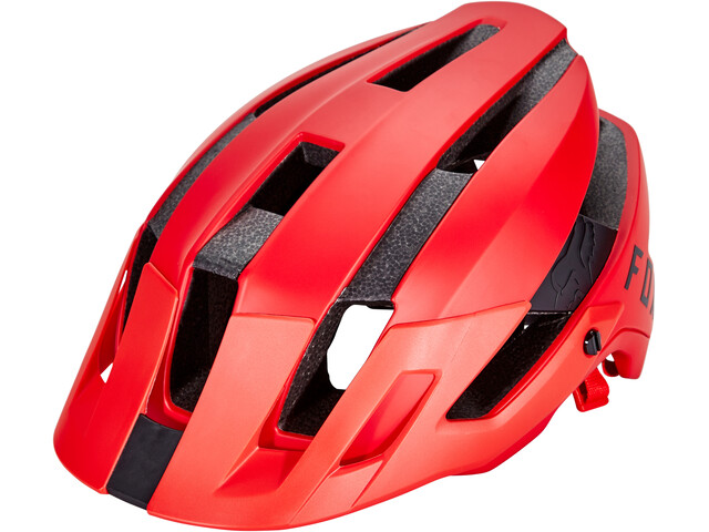 Fox Flux Casco, bright red